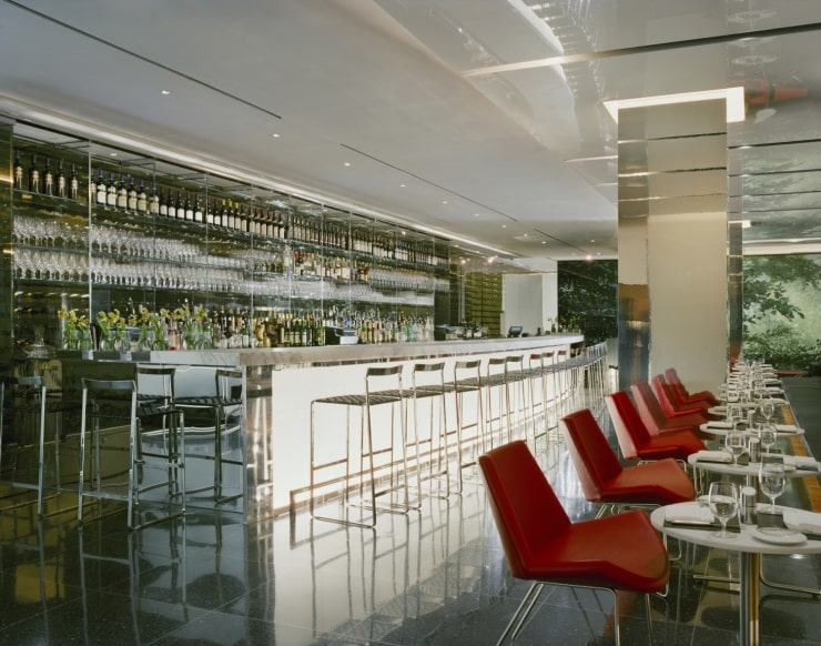 The Modern Bar at MoMA