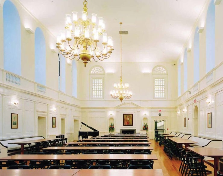 Pierson College Dining Hall at Yale University