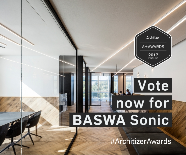 BASWA Sonic Nominated for the Architizer A+Awards
