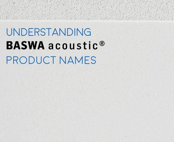 Proper BASWA acoustic System Naming