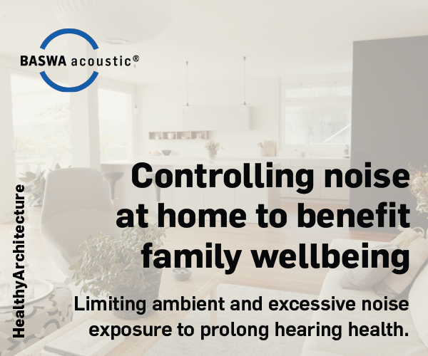 INFOGRAPHIC // Controlling noise at home to benefit family wellbeing