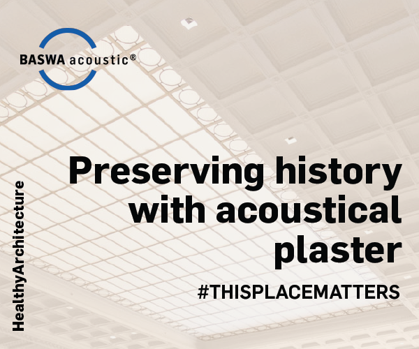 INFOGRAPHIC // Preserving History with Acoustical Plaster