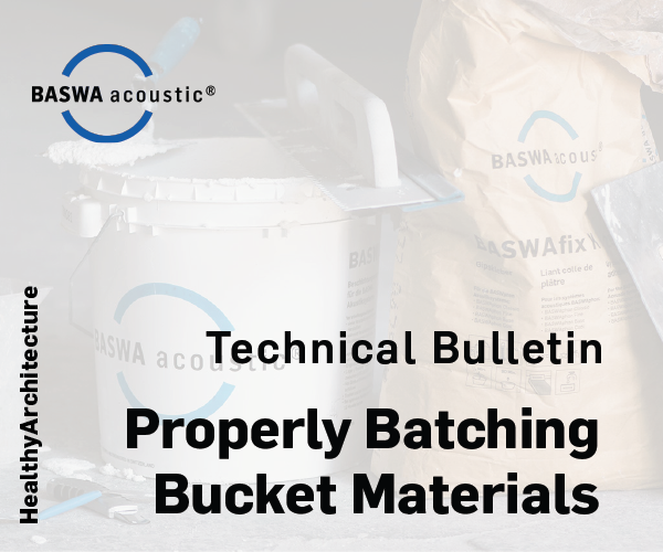 Guidelines for Properly Batching BASWA Base & Fine Materials