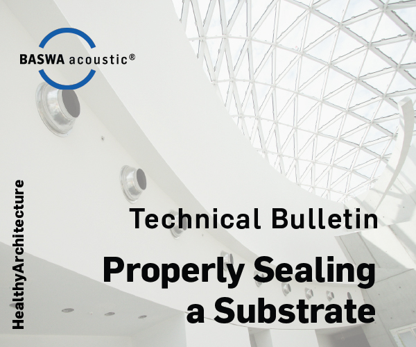 Guidelines for Properly Sealing a Substrate Prior to BASWA System Installation