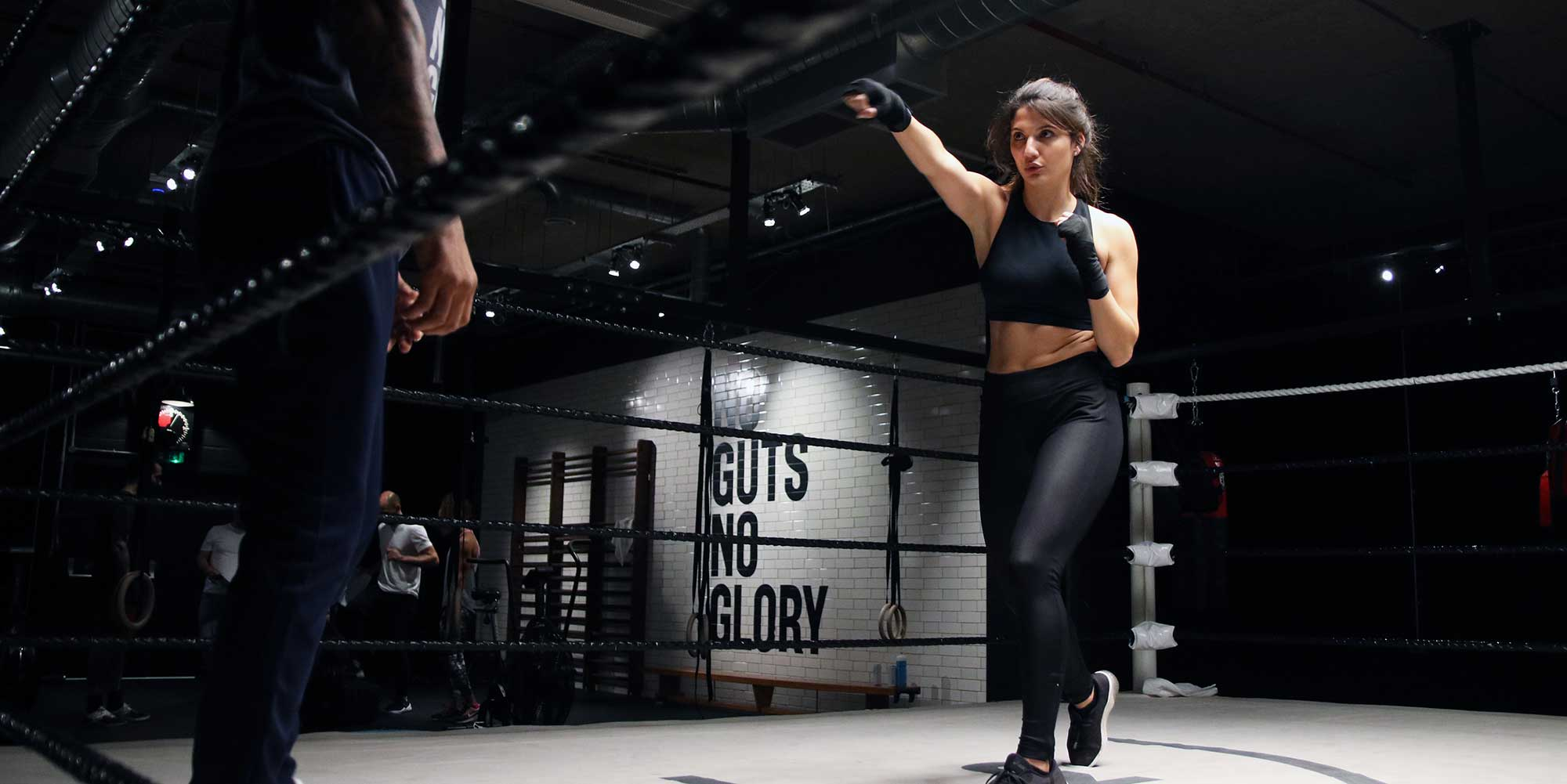 photo of person boxing training