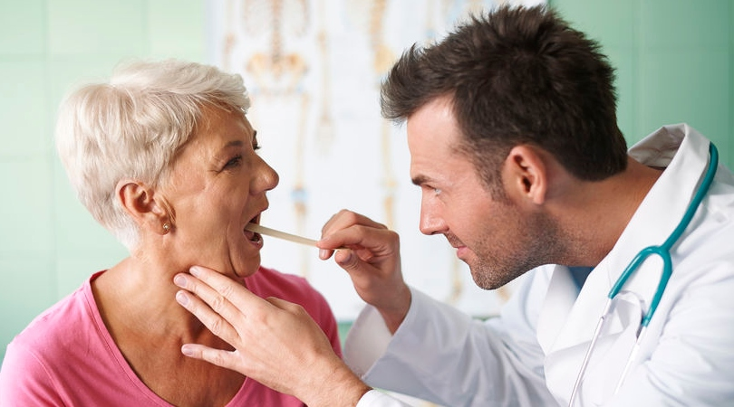 A sore throat is commonly caused by a viral infection and will often clear up on its own. Symptoms include pain when swallowing and sore and swollen glands.