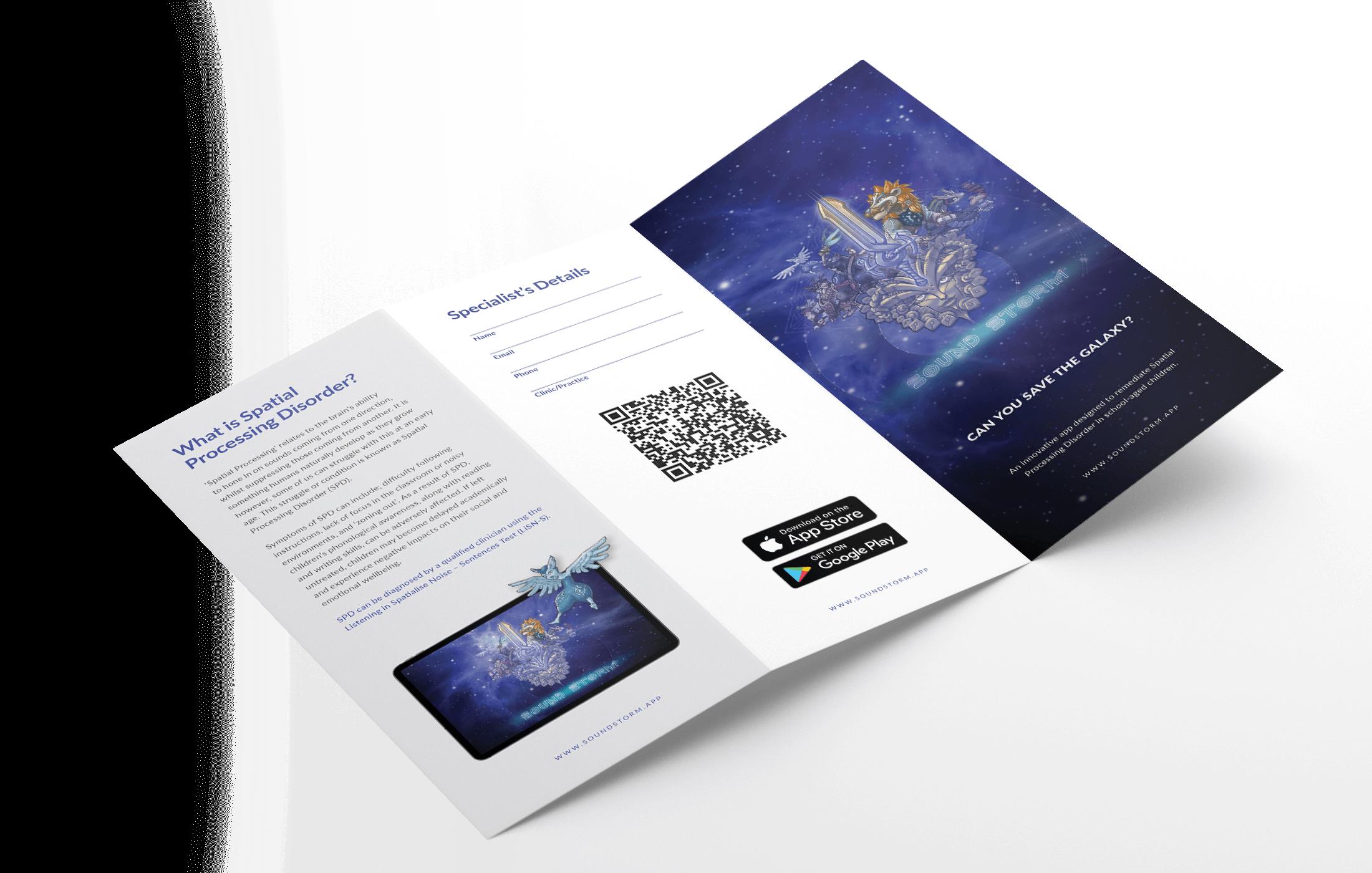 Sound Storm Marketing Flyer
