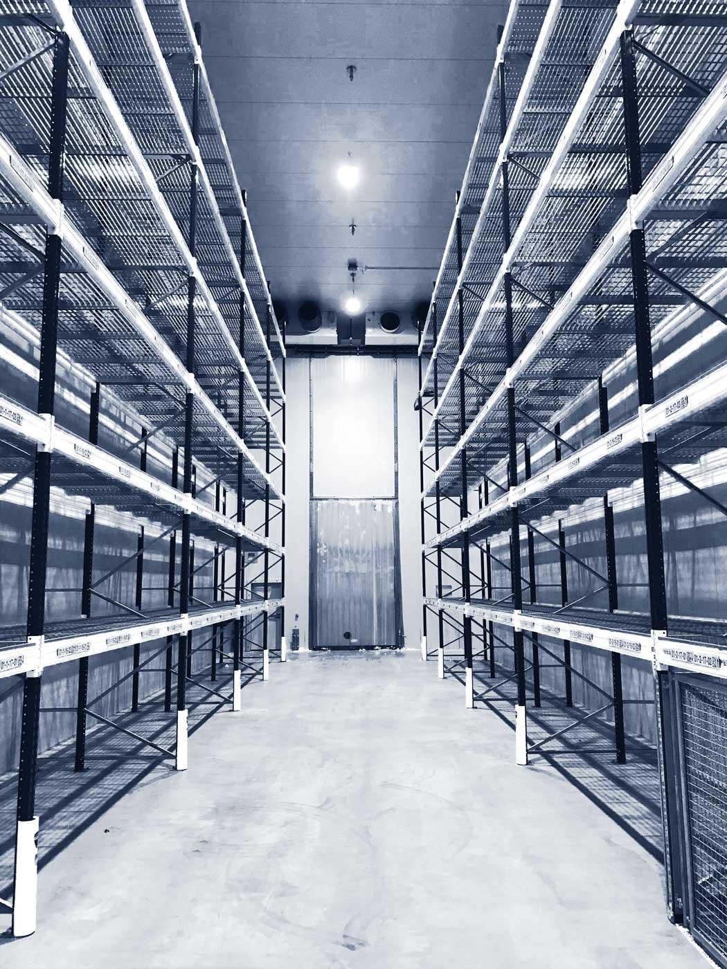 Rieger Kälteanlagenbau verbaut eine Verbundkälteanlage im Tiefkühllager der Honold Logistik in Augsburg.