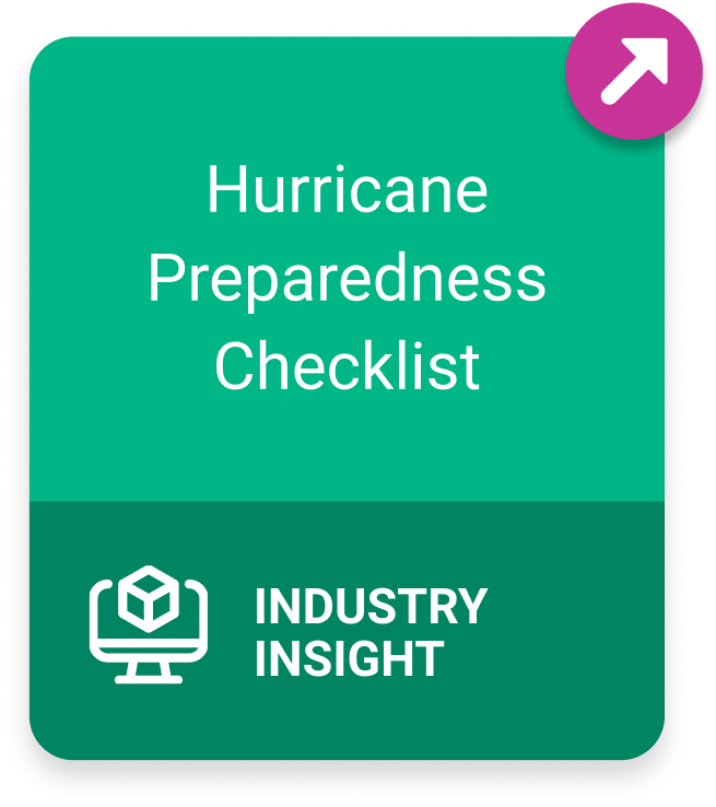 Industry Insight: Hurricane Preparedness Checklist