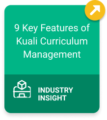9 Key Features of Kuali Curriculum Management