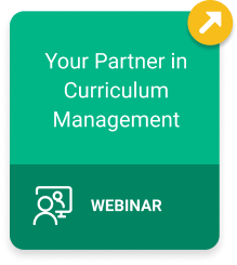 Your Partner in Curriculum Management Webinar
