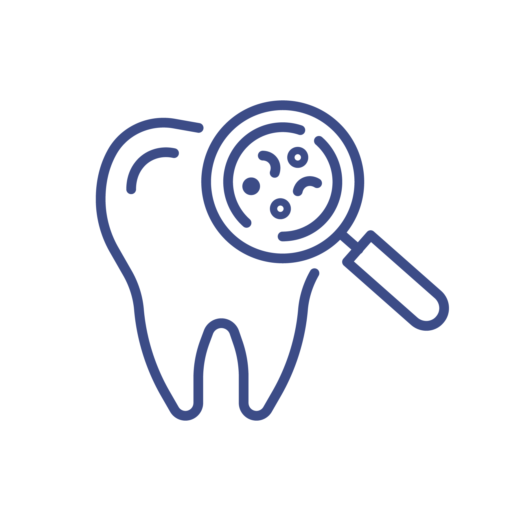 examine teeth icon