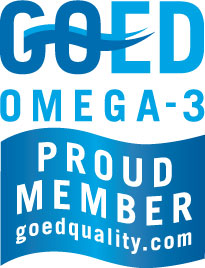 GOED Omega-3 badge