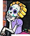 Girl Skeleton