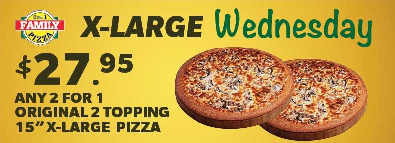 X-Large Wednesday
