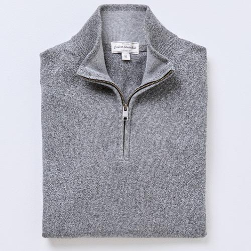 Gazman Cotton Stretch Half Zip Knit