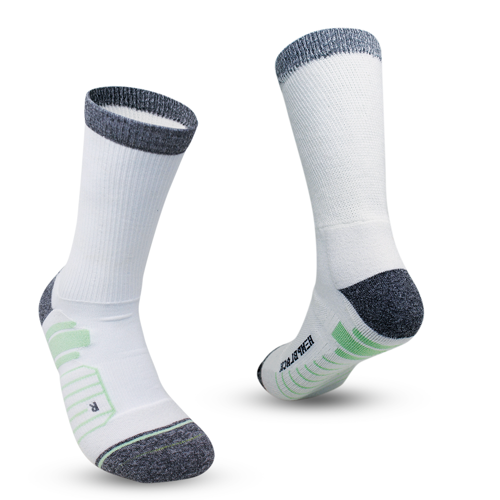 Ananda CBD-Infused Cooling Comfort Socks (White)