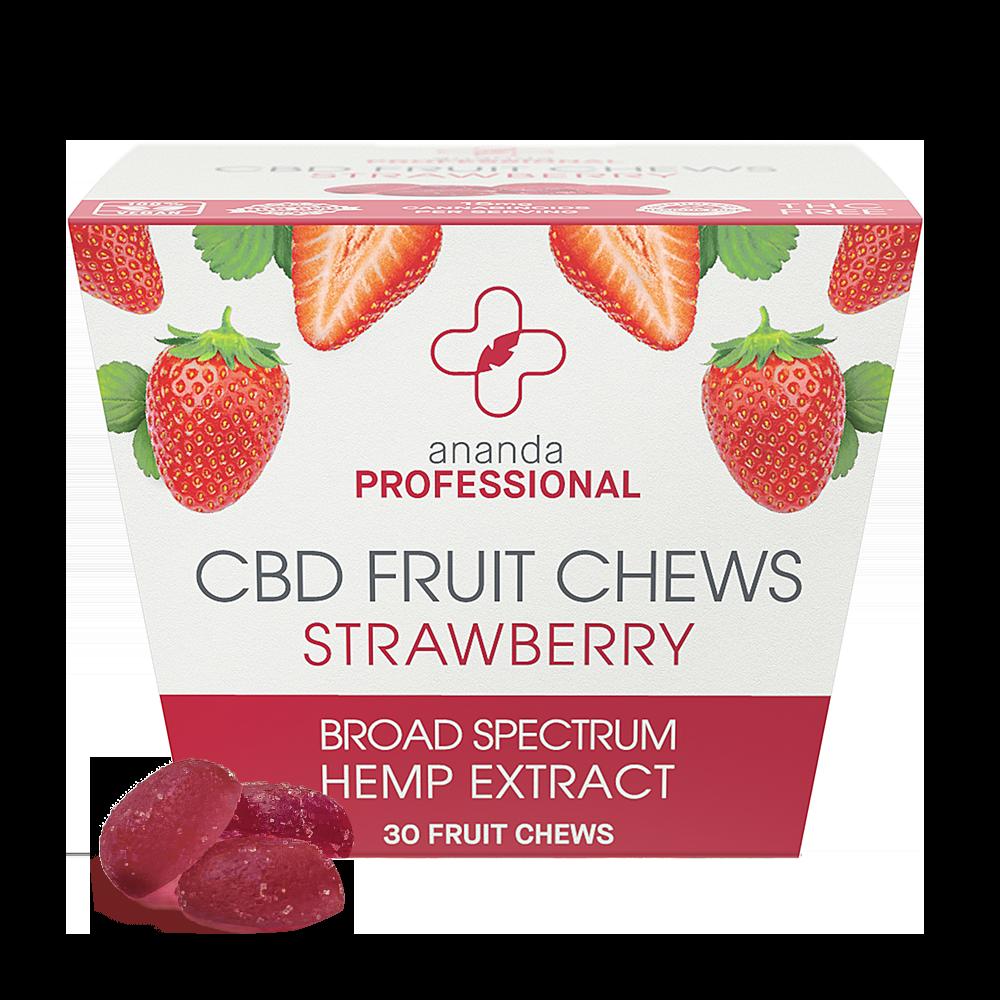 Ananda Professional CBD Strawberry Fruit Chews 15mg