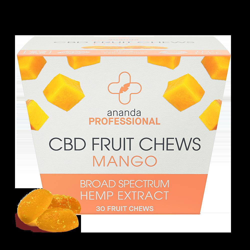 Ananda Professional CBD Mango Fruit Chews 15mg