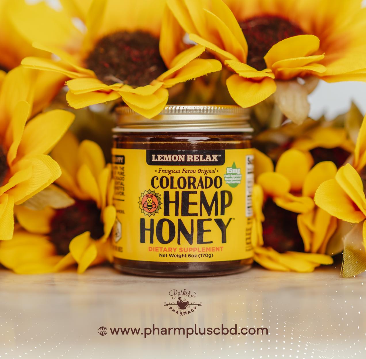 Colorado Hemp Honey Lemon Relax 6oz Jar