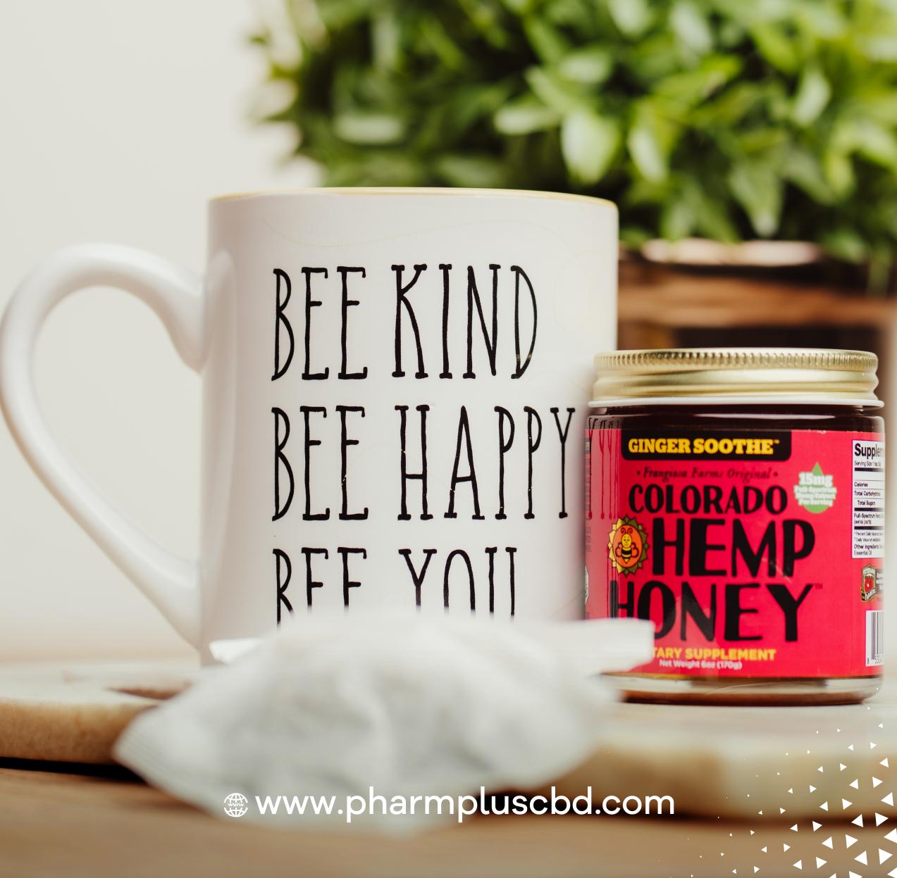 Colorado Hemp Honey Ginger Soothe 6oz Jar