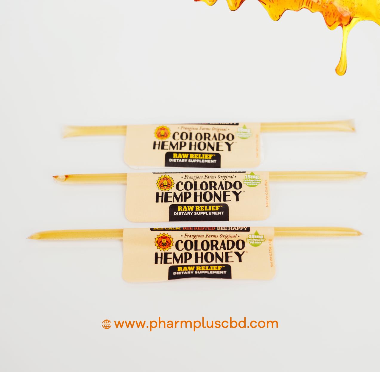 Raw Relief Honey Sticks (10-pack)
