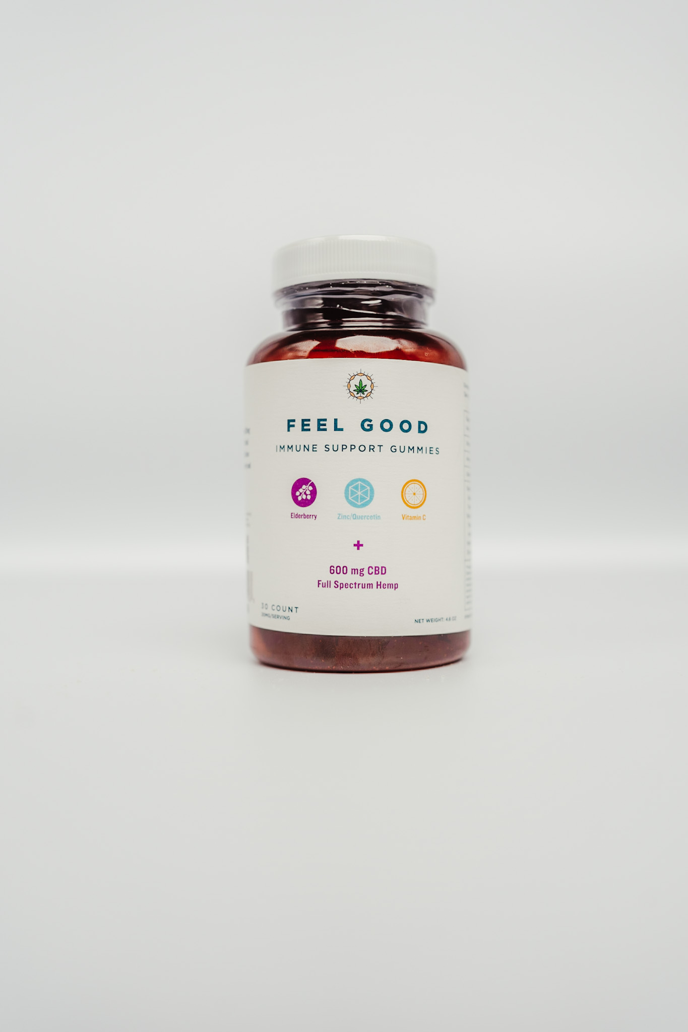 Feel Good Immune Support Full Spectrum Hemp Gummies