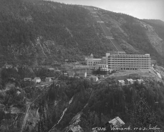 Vemork hydrogenfabrikk (1928)