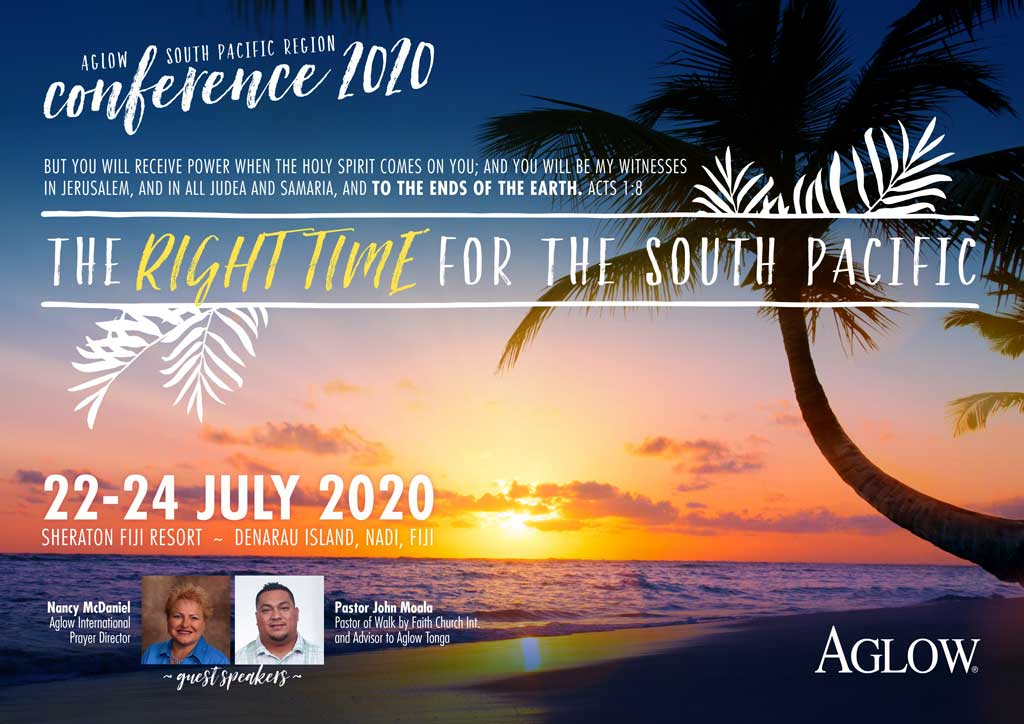 Aglow South Pacific conference 2020