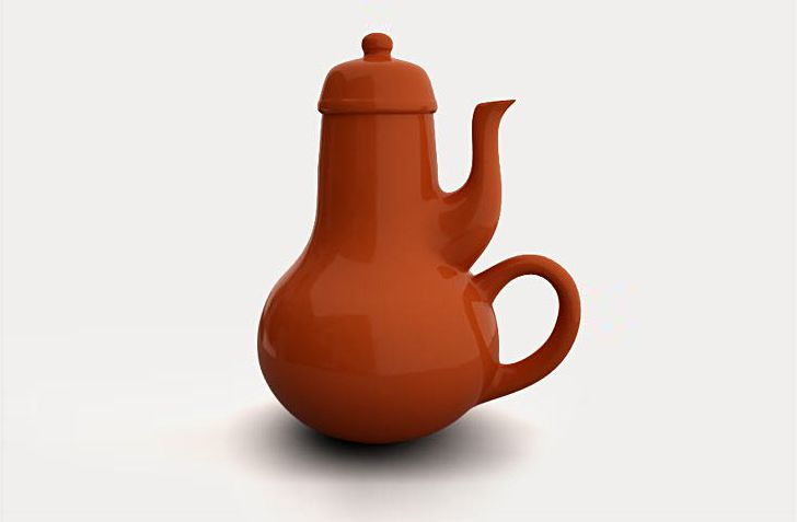 Carelman's useless teapot