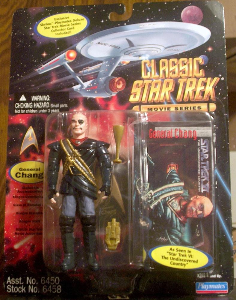 Action Figure Star Trek Movie Series Klingon Kruge 5 inch