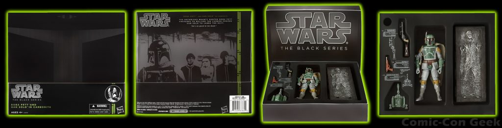 The Black Series Boba Fett with Han Solo in Carbonite