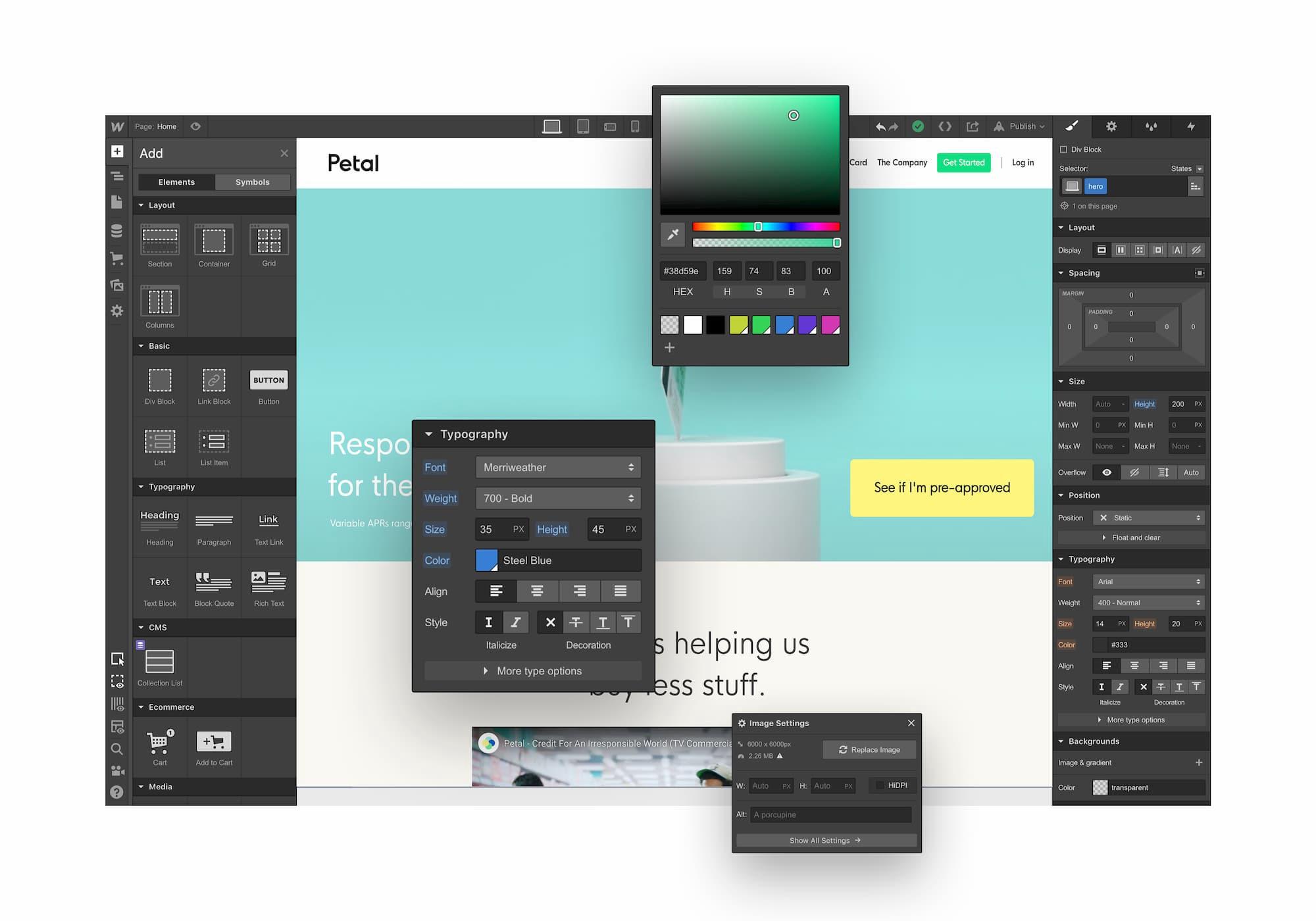 Webflow design agency