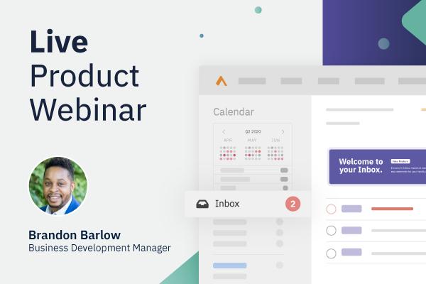 Live Product Webinar