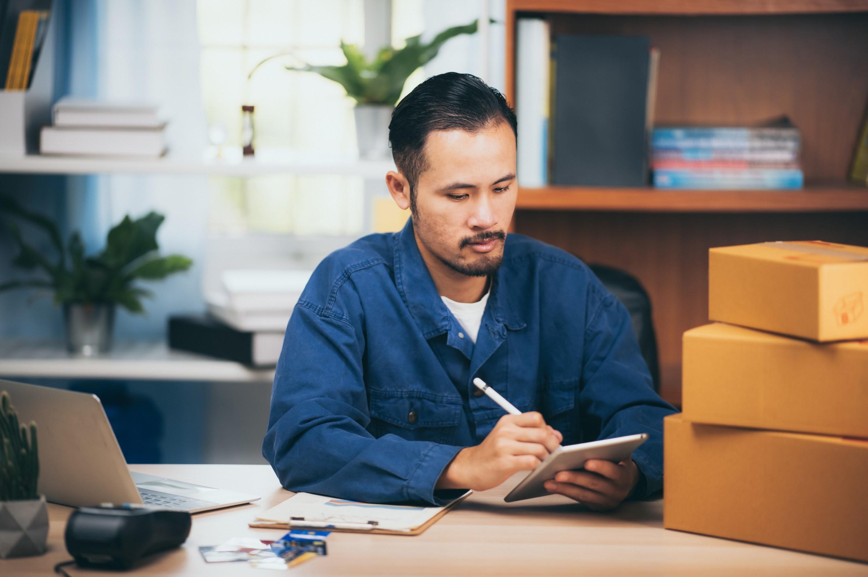 Devenir auto-entrepreneur vente de marchandises
