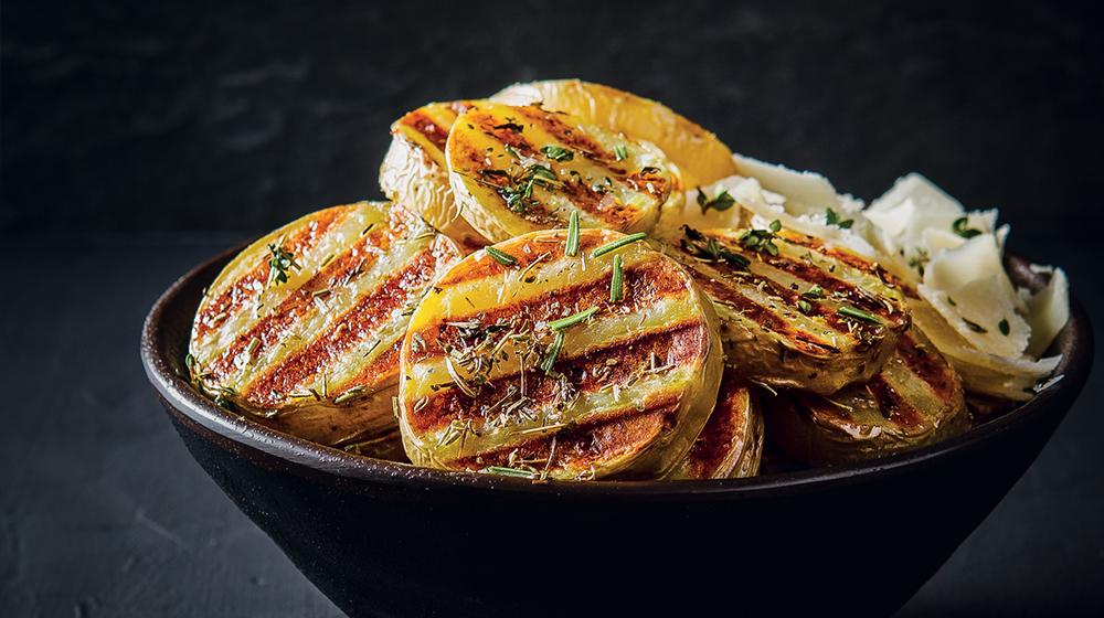 Parmesan and Herb Potatoes
