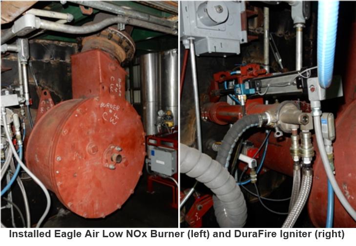Eagle Air Low Nox Burner And Durafire Igniter