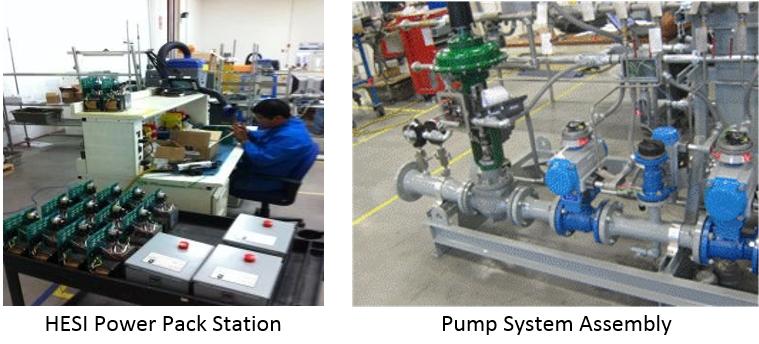HESI Power Pack Station