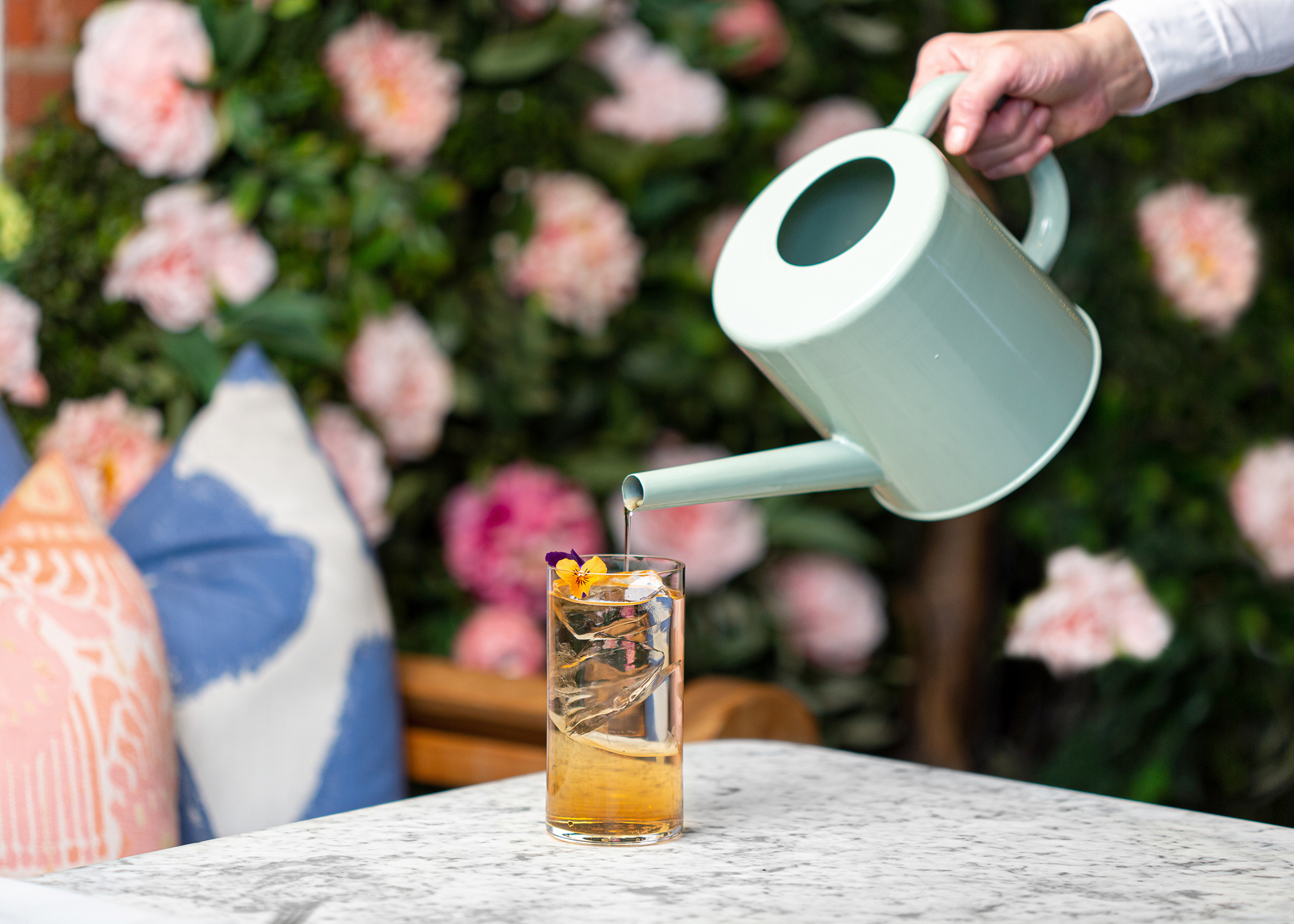 Try the New Saicho Cocktail at the Dalloway Terrace