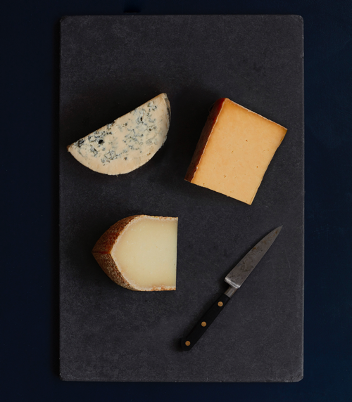 Saicho & Neal's Yard Dairy create perfectly paired cheese board