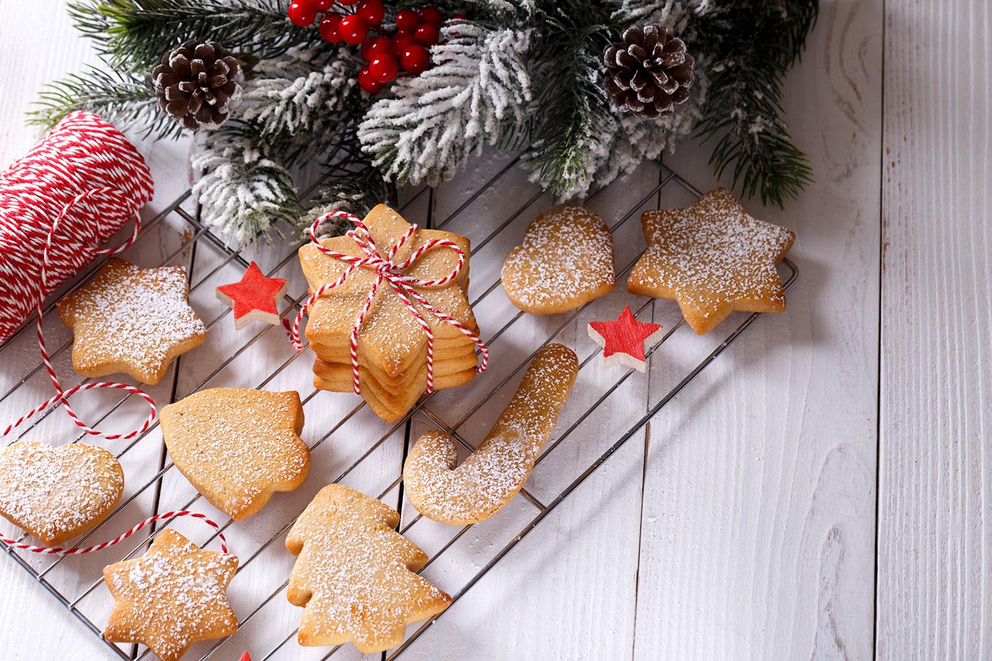 Preparing for Christmas Bakes