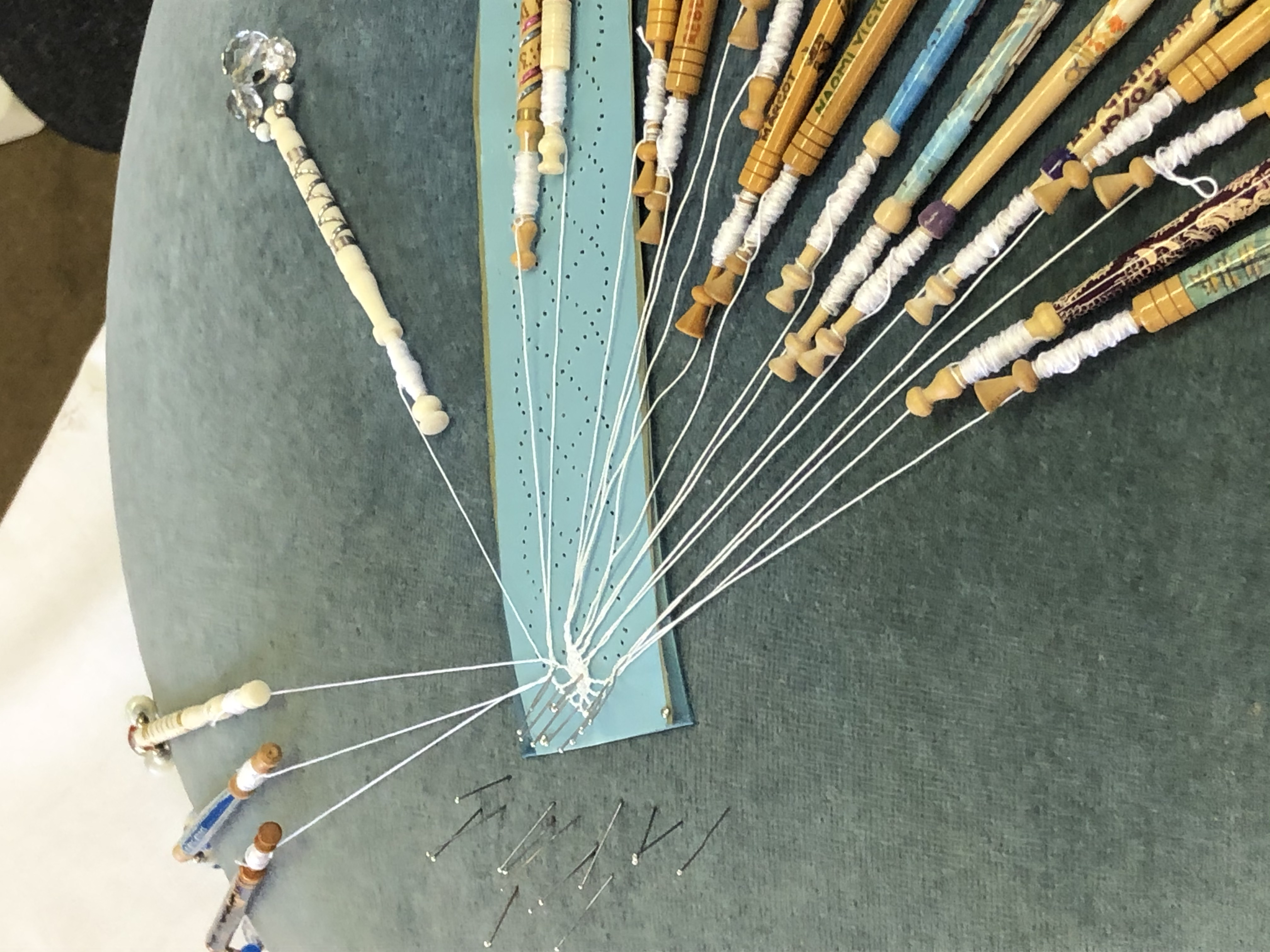 Bobbin Lace & Friends of An Grianan, Waterford, Kerry & Limerick Federation Week
