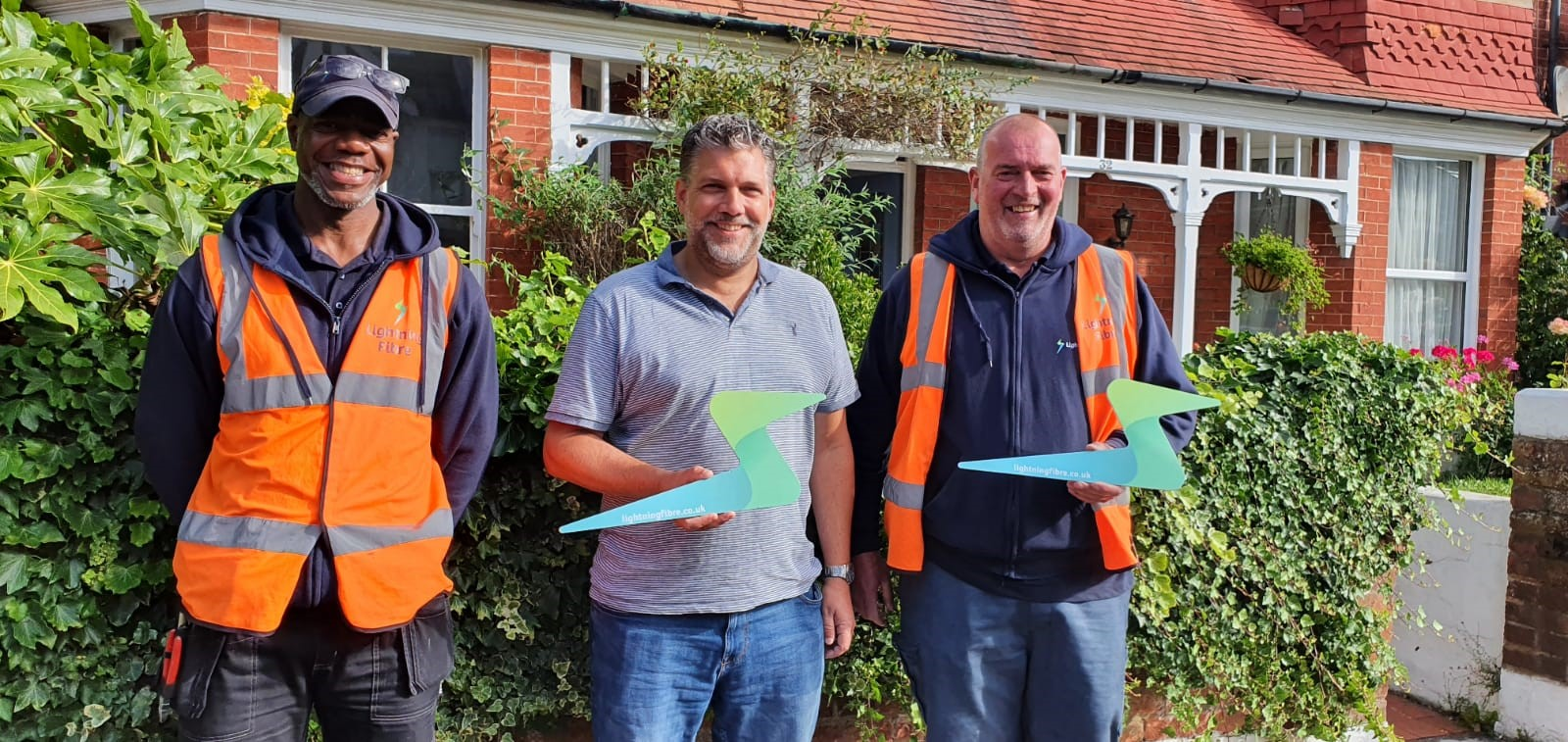 10,000 Homes Passed, Lightning Fibre Broadband celebrates another milestone