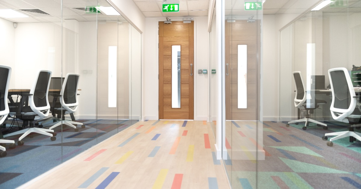 Local businesses collaborate on a low-carbon office fit out in Polegate