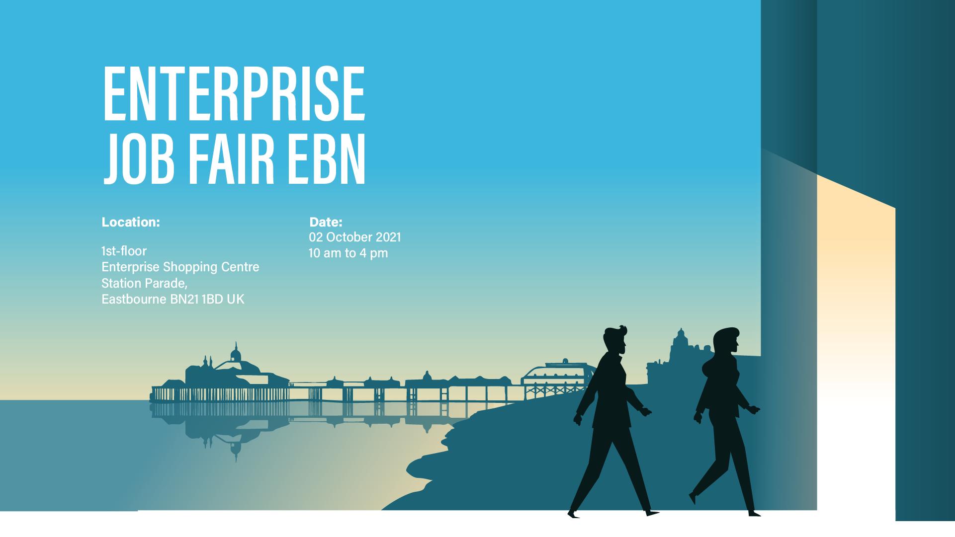 The Enterprise Job Fair Eastbourne 2021 including Lightning Fibre Broadband