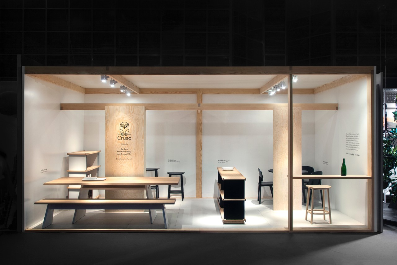 2019 - Cruso at Maison & Objet, Paris