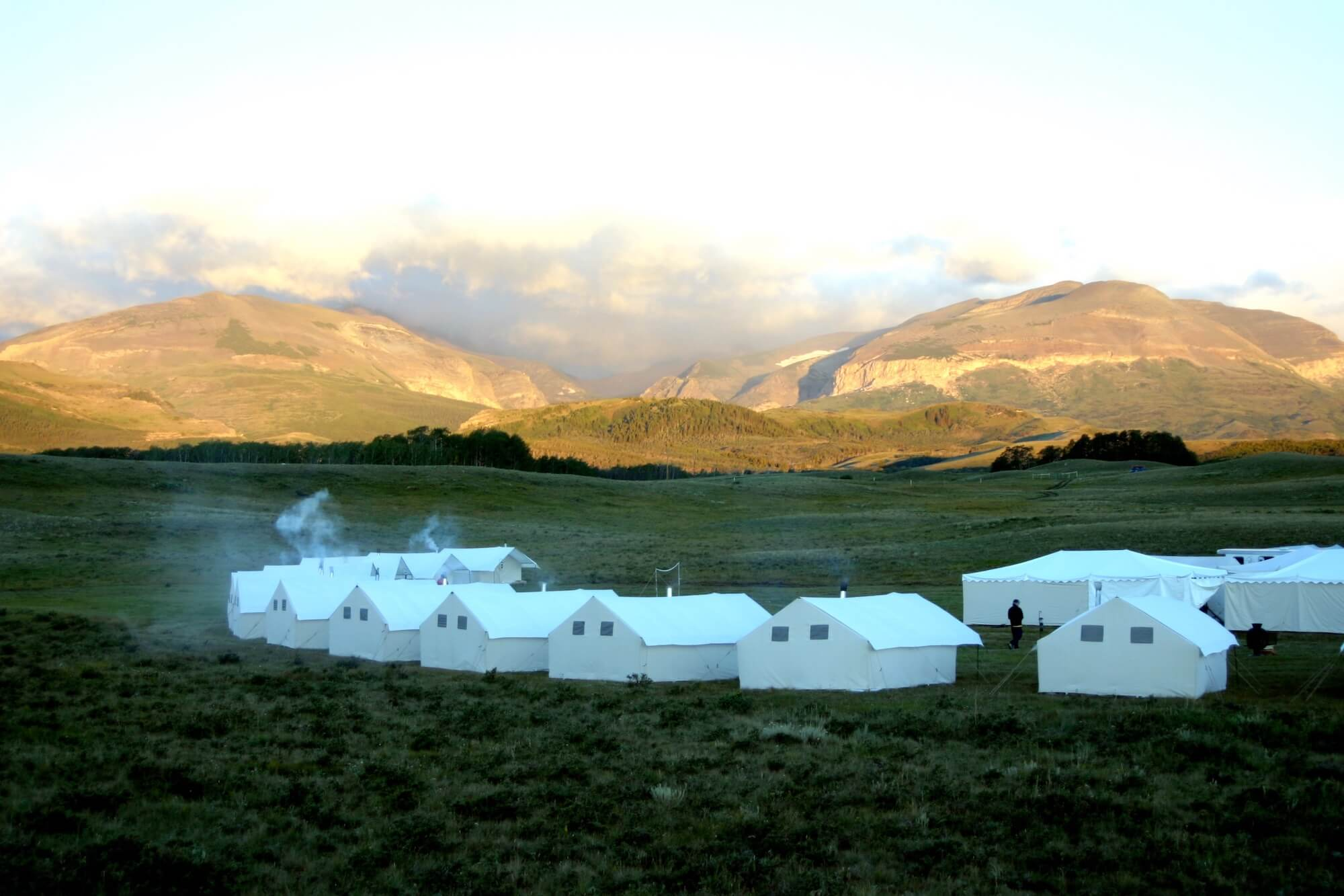 global expeditions tent site