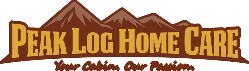 Peak Log Home Care logo