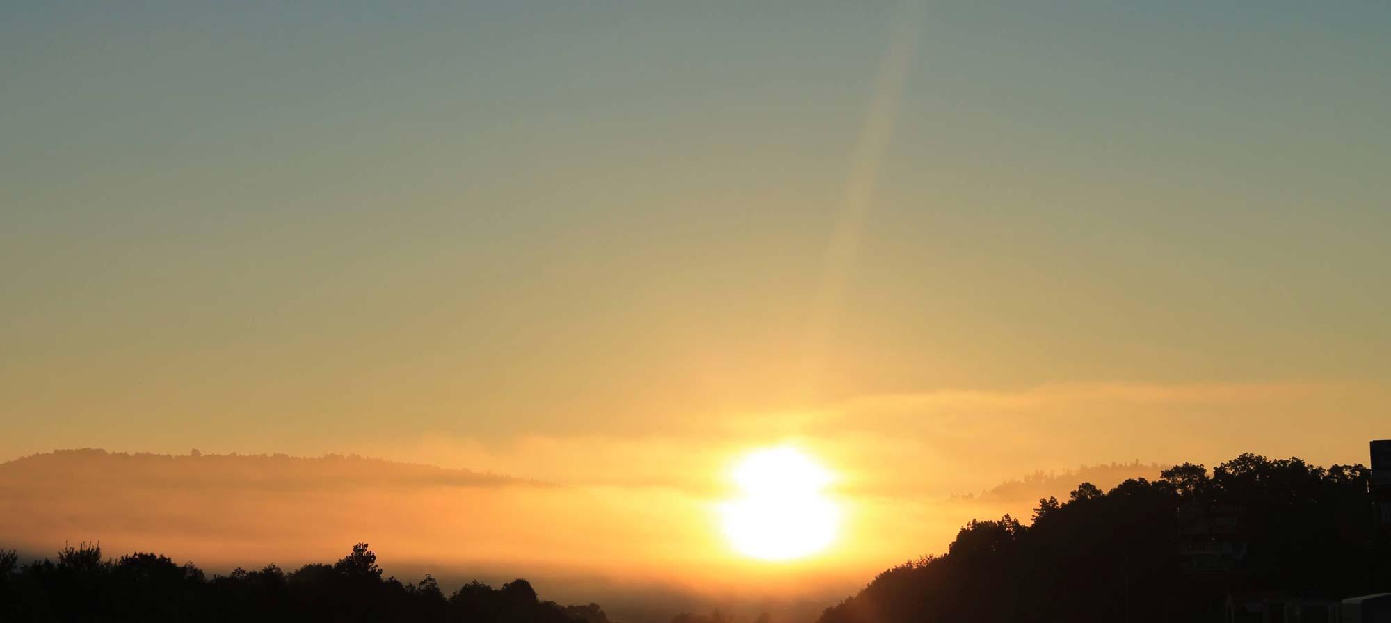 Sunset in Jasper, Georgia