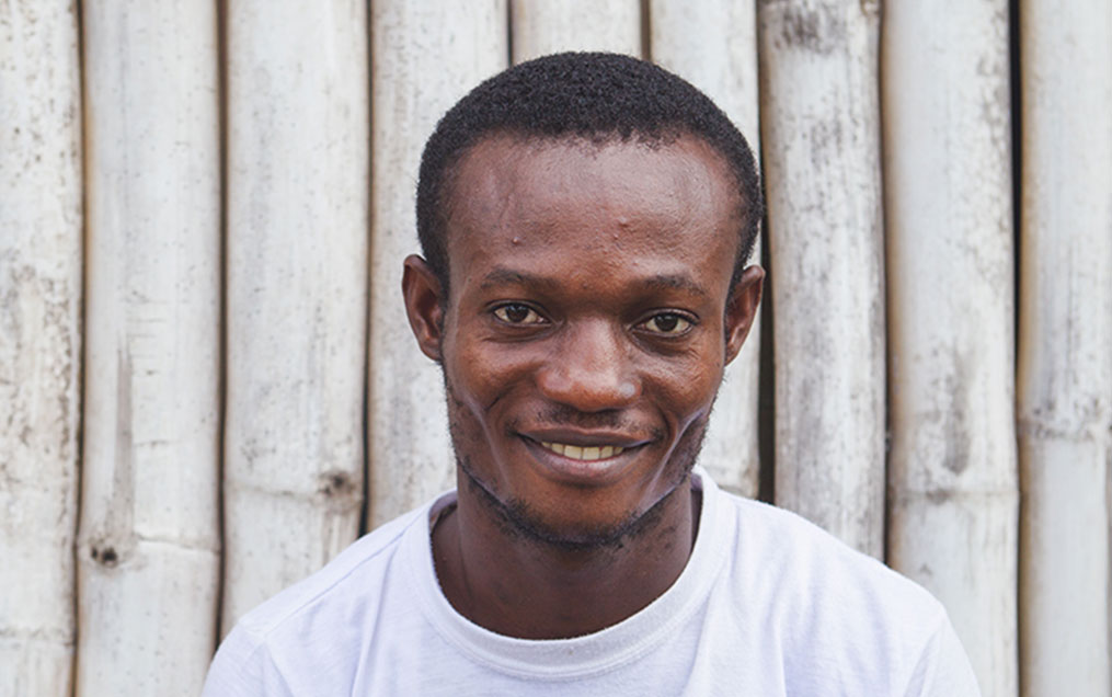 Central African man